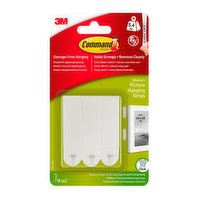 Command™ Medium White Picture Hanging Strips