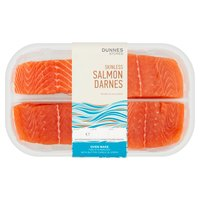 Dunnes Stores Skinless Salmon Darnes 440g