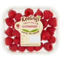 Keelings Delicious Raspberries