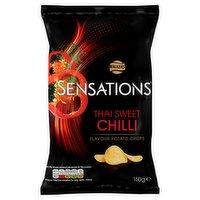 Walkers Sensations Thai Sweet Chilli Sharing Crisps 150g