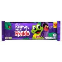 Cadbury Dairy Milk Freddo Chocolate Bar 6 Pack 108g
