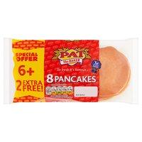 Pat the Baker 8 Pancakes