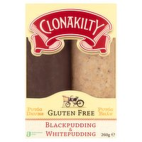 Clonakilty Black & White Pudding 260g