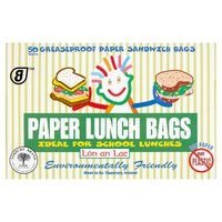 Lón an Lae 50 Greaseproof Paper Sandwich Bags