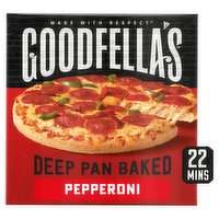 Goodfella's Deep Pan Baked Pepperoni 411g