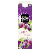 The Juice Press Daily Water Extracted Prune Juice 1 Litre