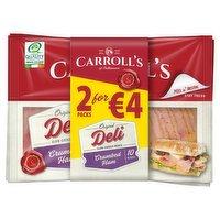 Carroll's of Tullamore Original Deli Crumbed Ham 10 Slices 2 x 100g