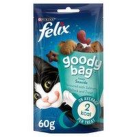 Felix Goody Bag Treats Seaside Mix 60g