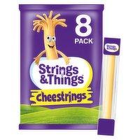 Strings & Things Cheestrings 8 x 20g (160g)