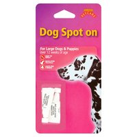 Gullivers Petcare Dog Spot On for Large Dogs & Puppies