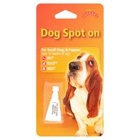 Gullivers Petcare Dog Spot On for Small Dogs & Puppies
