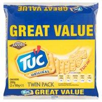 Tuc Original Crackers Twin Pack 2 x 100g (200g)