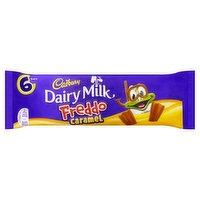 Cadbury Dairy Milk Freddo Caramel Chocolate Bar 6 Pack 117g