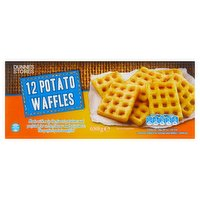 Dunnes Stores 12 Potato Waffles 680g