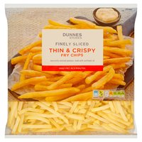Dunnes Stores Finely Sliced Thin & Crispy Fry Chips 1.5kg