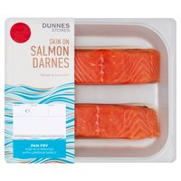 Dunnes Stores Skin On Salmon Darnes 190gm