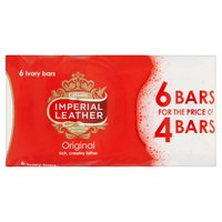 Imperial Leather Original Bar Soap 6 x 100g