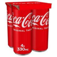 Coca-Cola Original Taste 4 x 330ml