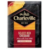 Charleville Select Red Cheddar 8 Slices 160g