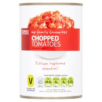 Dunnes Stores My Family Favourites Chopped Tomatoes in Tomato Juice 400g