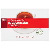 Dunnes Stores My Family Favourites 80 Gold Blend Tea Bags 250g