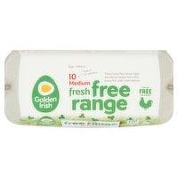 Golden Irish Fresh Free Range 10 Medium Eggs