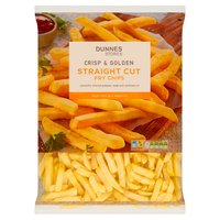 Dunnes Stores Crisp & Golden Straight Cut Fry Chips 2.5kg