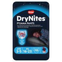 Huggies® DryNites®, Pyjama Pants, Boy, 3-5 Years (16-23kg), 10 Pants