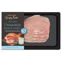 Dunnes Stores Simply Better Dry Cured Unsmoked Irish Rashers 250g