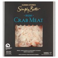 Dunnes Stores Simply Better Irish Crab Meat 100g