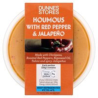 Dunnes Stores Houmous with Red Pepper Jalapeño 170g