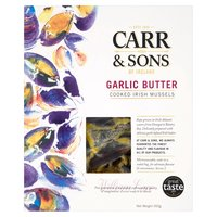 Carr & Sons of Ireland Garlic Butter Cooked Irish Mussels 450g