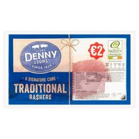 Henry Denny & Sons 6 Signature Cure Traditional Rashers 180g