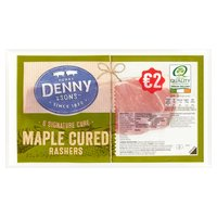 Henry Denny & Sons 6 Signature Cure Maple Cured Rashers 180g