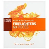 Dunnes Stores My Family Favourites Firelighters 60 Pieces
