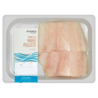 Dunnes Stores Skinless Hake Fillets 250gm