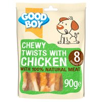 Good Boy Pawsley & Co. Chewy Twists with Chicken 90g