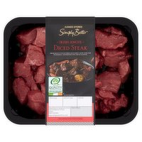 Dunnes Stores Simply Better Irish Angus Diced Steak 0.370kg