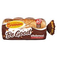Brennans Be Good Wholemeal Delicious High Fibre Bread 600g