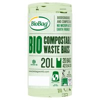BioBag 20 Compostable Waste Bags 20L