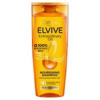 L'Oreal Paris Shampoo by Elvive Extraordinary Oil for Nourishing Dry Hair 400ml