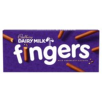 Cadbury Dairy Milk Fingers Chocolate Biscuits 114g
