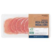 Dunnes Stores Unsmoked Irish Bacon Medallions 200g
