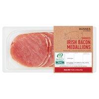 Dunnes Stores Smoked Irish Bacon Medallions 200g