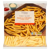 Dunnes Stores Finely Sliced Thin & Crispy Oven Chips 1.5kg