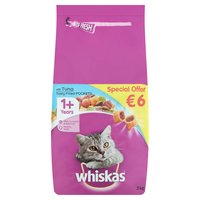 Whiskas with Tuna 1+ Years 2kg