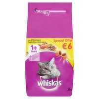 Whiskas with Chicken 1+ Years 2kg