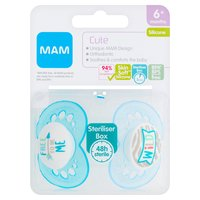 MAM Cute Silicone Soother 6+ Months