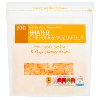 Dunnes Stores My Family Favourites Grated Cheddar & Mozzarella 250g