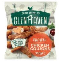 Glenhaven Breaded Chicken Goujons 360g